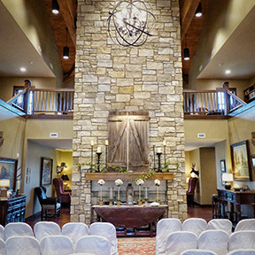 Pheasant Bonanza Lodge Wedding Nebraska