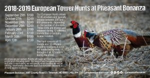 Iowa South Dakota Nebraska European Tower Hunt