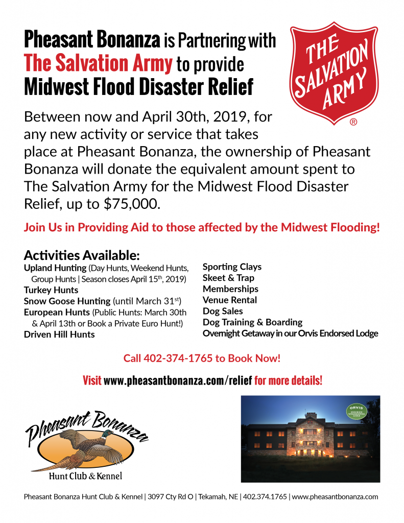 Midwest Flood relief